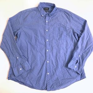 Bonobos Shirt Top Button Front Mens Size XXL Slim